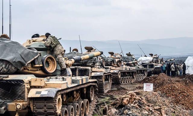 Συρία: Τζιχαντιστές στο πλευρό των Τούρκων στο Αφρίν