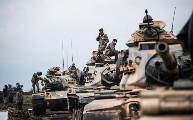 Συρία αποχώρηση αμερικανικών στρατευμάτων
