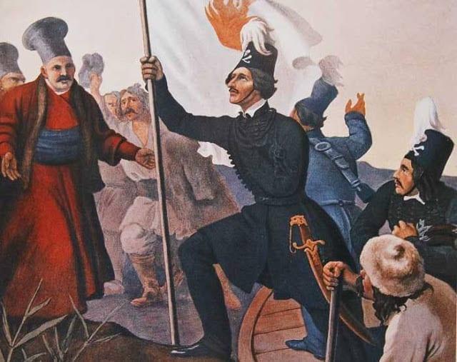 22 Φεβρουαρίου Ο Αλέξανδρος Υψηλάντης μπαίνει στη Μολδοβλαχία