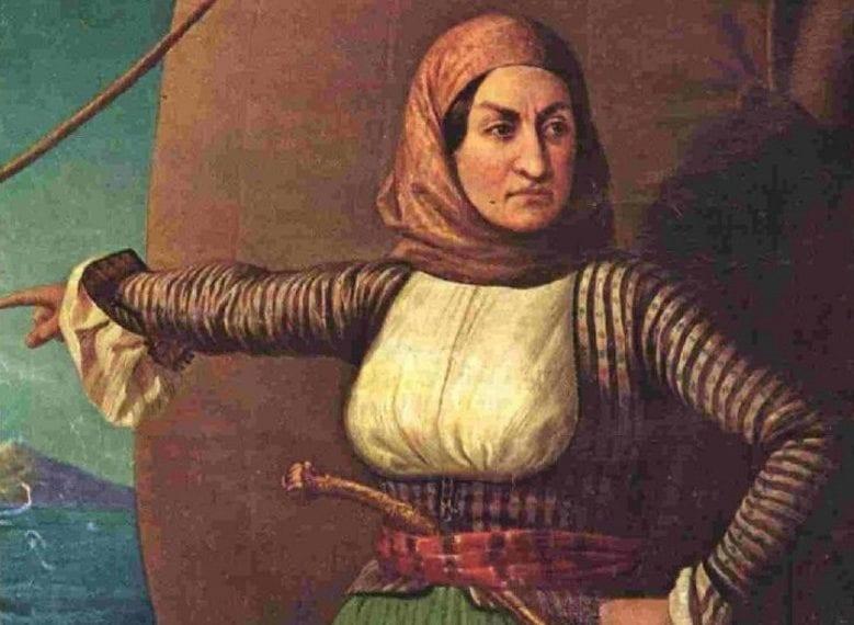 11 Μαϊου 1771: Γεννιέται η Λασκαρίνα «Μπουμπουλίνα» Πινότση
