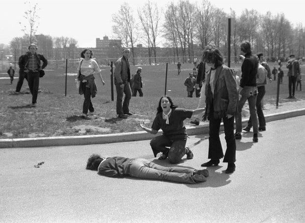 Νεκροί Οχάιο - 1970, 4 Μαΐου