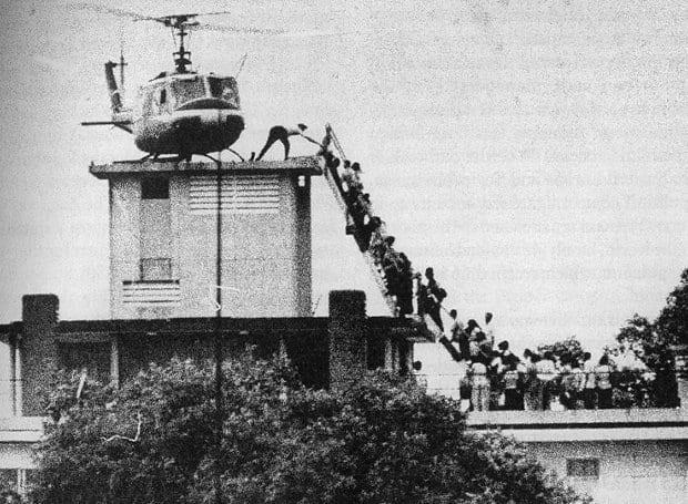 Σαϊγκόν - Ελικόπτερο, 30 Απριλίου