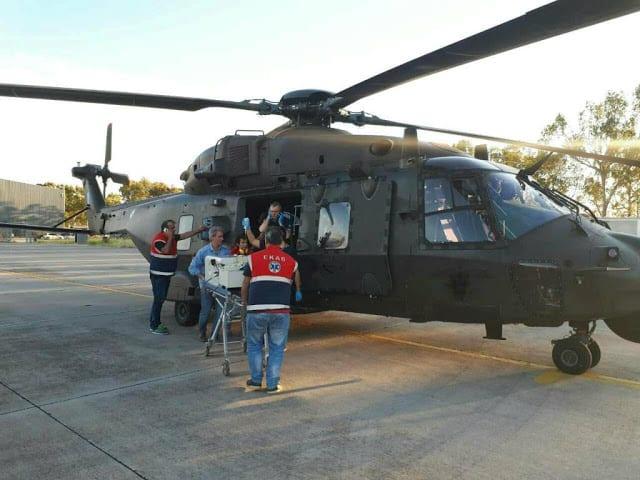 Αεροκομιδές: Η Αεροπορία Στρατού συνεχίζει να σώζει ζωές