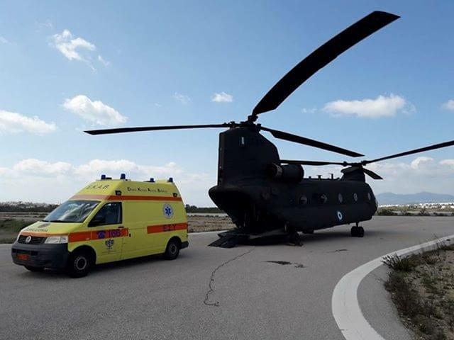 Αεροκομιδές: Η Αεροπορία Στρατού συνεχίζει να σώζει ζωές 2 Αεροκομιδές: Η Αεροπορία Στρατού συνεχίζει να σώζει ζωές
