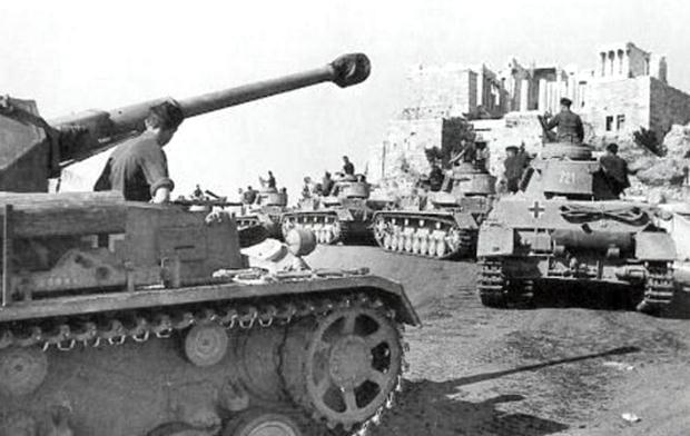 27 Απριλίου 1941: Γερμανικά στρατεύματα στην Αθήνα - Αρχίζει η Κατοχή Γερμανικά στρατεύματα - Αθήνα, 27 Απριλίου