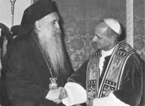 Πατριάρχης Αθηναγόρας - Πάπας Παύλος ΣΤ', 25 Ιουλίου