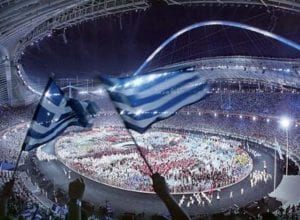 Τελετή Έναρξης Ολυμπιακών Αγώνων 2004, 13 Αυγούστου