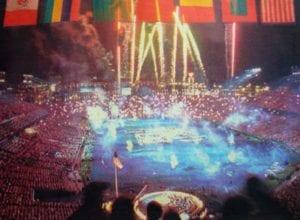 Ατλάντα - Τελετή Λήξης Ολυμπιακών Αγώνων, 9 Αυγούστου