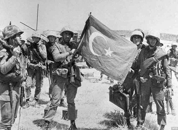 Τουρκική εισβολή στην Κύπρο -