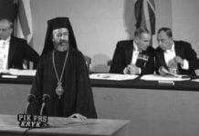 Αρχιεπίσκοπος Μακάριος-ΟΗΕ, 19 Ιουλίου