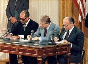 συνθήκη ειρήνης του Καμπ Ντέιβιντ, 17 Σεπτεμβρίου