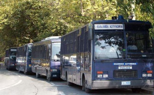 Αστυνομία, λεωφορείο