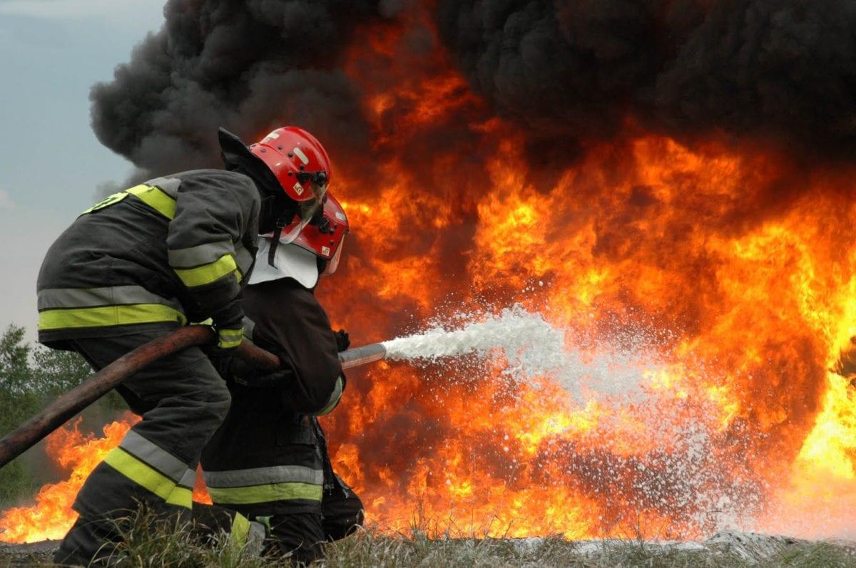 Πυροσβέστης, πυρκαγιά, πυροσβεστική