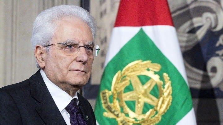 ο Ιταλός Πρόεδρος Σέρτζιο Ματαρέλλα