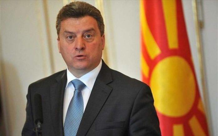 Σκόπια, Πρόεδρος Ιβάνοφ