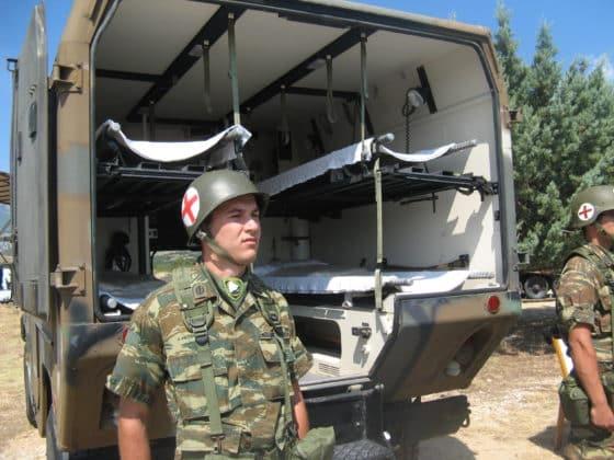 ΓΕΣ: Νέο τροχαίο με φαντάρους - Δυο στρατιώτες στο νοσοκομείο