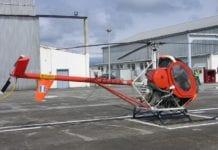 NH 300C Αναγκαστική προσγείωση