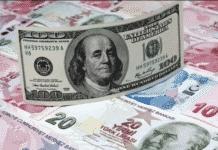 Δολάριο, τουρκική λίρα