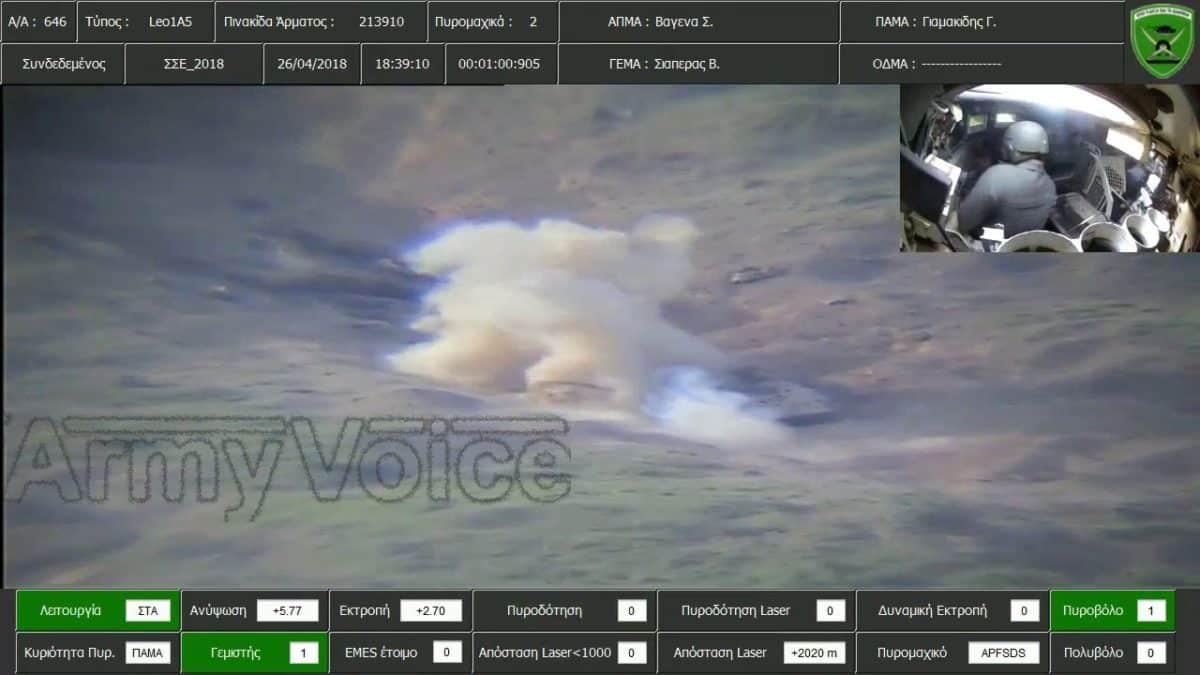 LFME: Παρακολούθηση πυρών αρμάτων