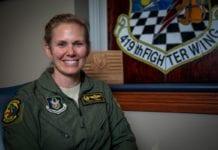 F-35: Η σιδηρά κυρία που διοικεί την 419 Πτέρυγα Μάχης Εφέδρων