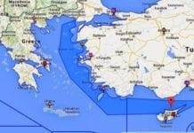 Τουρκία: Νέοι χάρτες που «αγνοούν» Ρόδο, Κάρπαθο, Κρήτη και Κύπρο