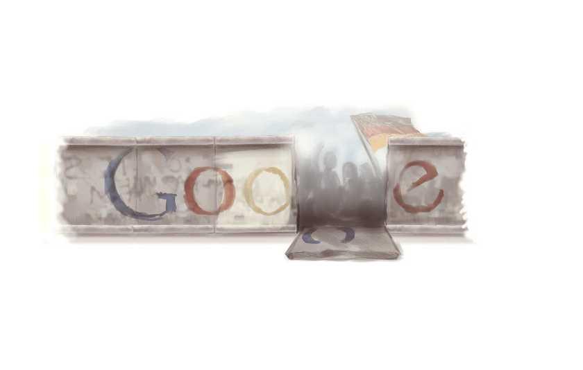 Doodle Google: Η επέτειος από την πτώση του Τείχους του Βερολίνου