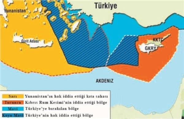 Αυτό είναι το σχέδιο της Τουρκίας για Αιγαίο - Μεσόγειο: «Pax Tourkana»