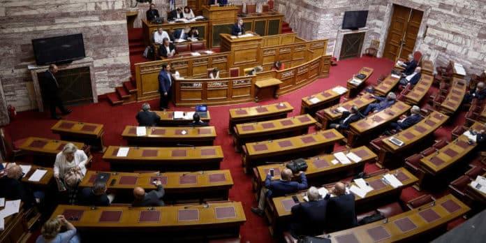 Βουλή ΝΑΤΟ Συμφωνία των Πρεσπών: Σήμερα 25 Ιανουαρίου η ψηφοφορία στη Βουλή Βουλευτικές έδρες Β' ΑΘηνών Υπόλοιπο Αττικής ΦΕΚ τροπολογία αναδρομικά βουλή