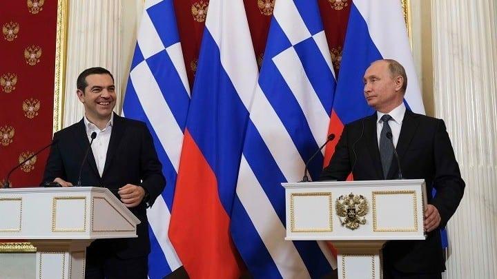 Συνάντηση ΤΣίπρα Πούτιν