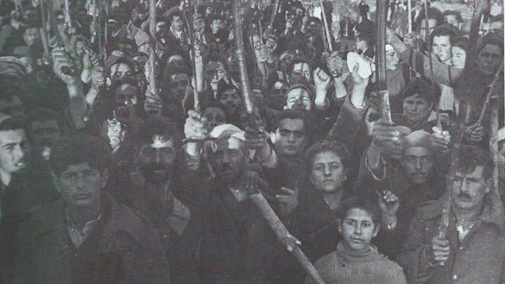 Μυτιλήνη: Τα Χριστούγεννα του '44 και η νίκη του ΕΑΜ - ΕΛΑΣ