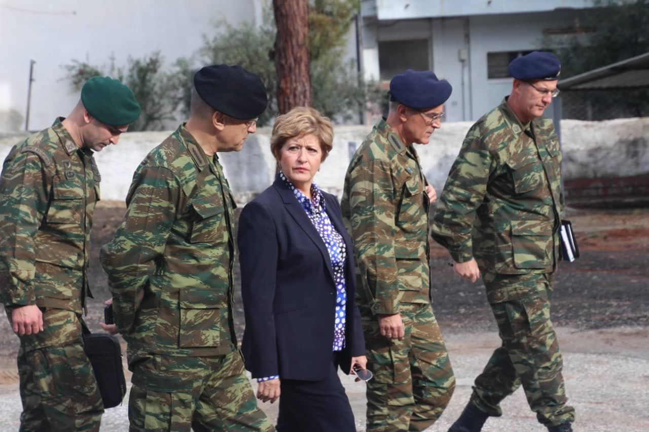 Μαρία Κόλλια-Τσαρουχά υπουργείο Εθνικής Άμυνας