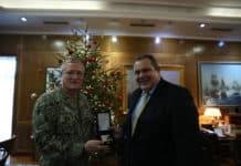 Πάνος Καμμένος: Ο ΥΕΘΑ συνομίλησε με τον Αμερικανό Υποδιοικητή της USSOCOM