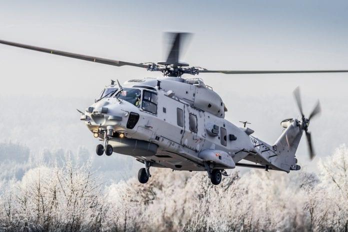 NH90: Προκήρυξη υποστήριξης των μεταφορικών ελικοπτέρων