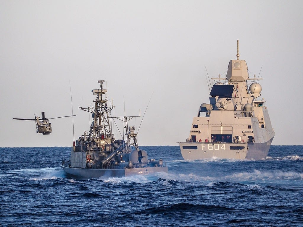 Πολεμικό Ναυτικό ΝΑΪΑΣ 2018