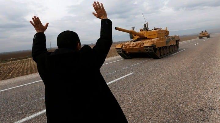 Τουρκία Στρατό σύνορα με τη Συρία