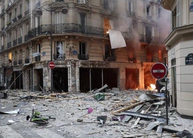 έκρηξη στο Παρίσι