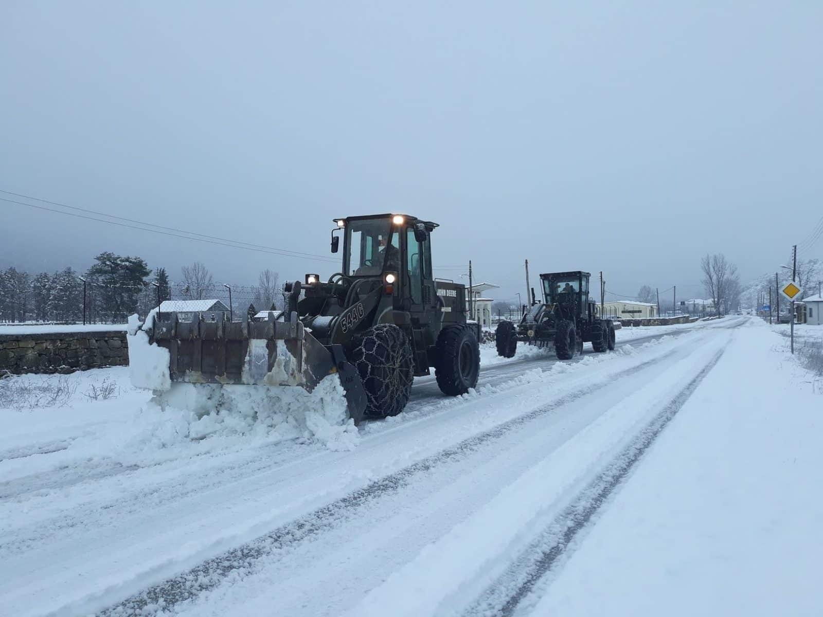 ΕΜΥ Καιρός - Έκτακτο δελτίο - 15 Ιανουαρίου - Χιόνια στην Αττική