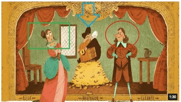 Μολιέρος - Molière: Ο ποιητής που τιμά η Google με doodle 10 Φεβρουαρίου