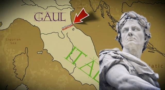 10 Φεβρουαρίου Σαν σήμερα ο Ιούλιος Καίσαρας διαβαίνει τον Ρουβίκωνα