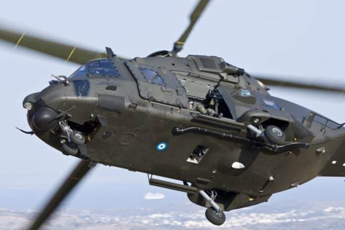 Στρατηγός Κωσταράκος Ελικόπτερο NH-90: Στην κακοκαιρία για ασθενή - Συγκλονιστικό