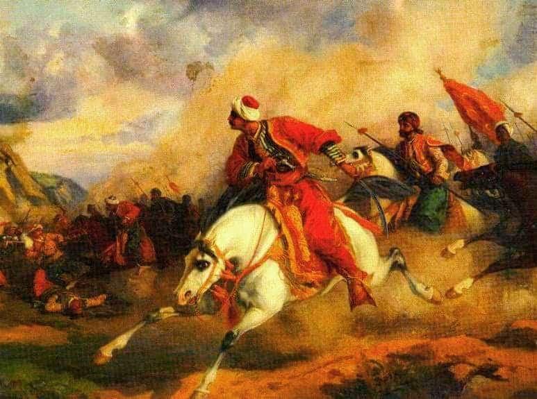 26 Φεβρουαρίου 1822: Οθωμανοί λεηλατούν και πυρπολούν τη Χαλανδρίτσα Αχαΐας