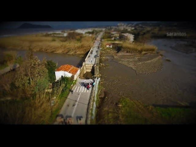Χανιά: Βιβλική καταστροφή - ΕΙΚΟΝΕΣ από drone
