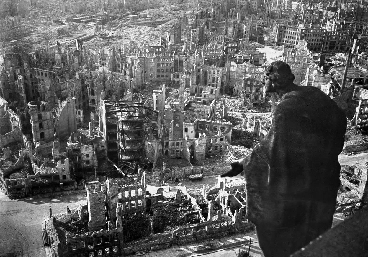 Σαν σήμερα 13 Φεβρουαρίου βομβαρδισμός της Δρέσδης