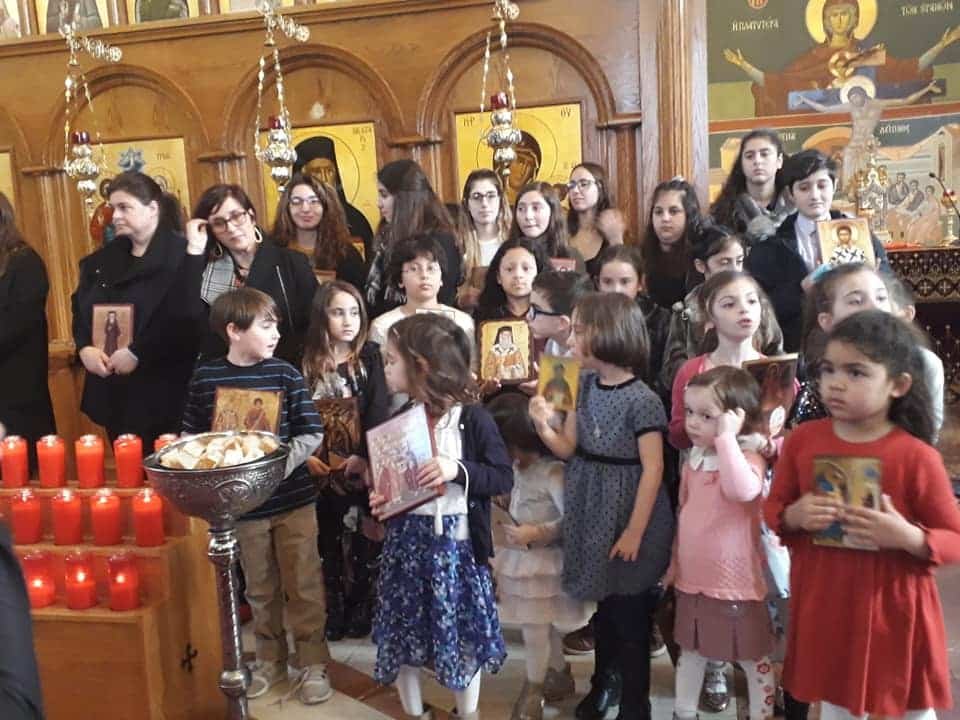Κυριακή της Ορθοδοξίας 2019 στον Άγιο Νεκτάριο Ρόσιντελ στην Βοστώνη