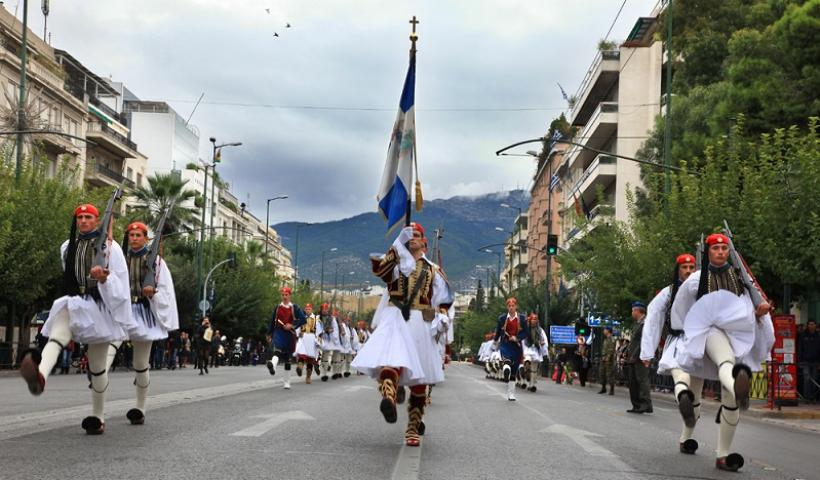 25η Μαρτίου: Τι ώρα είναι η στρατιωτική παρέλαση στην ΑΘήνα
