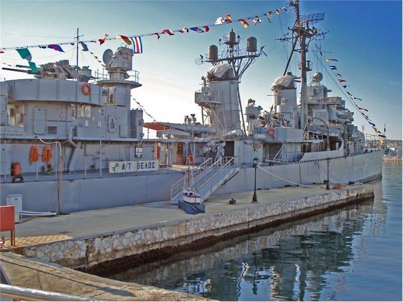 Κίνημα Ναυτικού: Οργή Ναυάρχου για την προσβολή στο ΒΕΛΟΣ Αντιτορπιλικό ΒΕΛΟΣ: Στη Θεσσαλονίκη