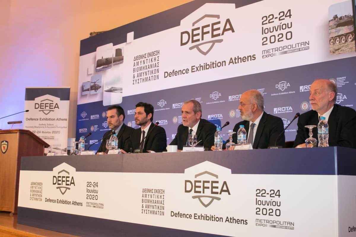 ROTA AE και ΣΕΚΠΥ ανακοίνωσαν τη διοργάνωση της έκθεσης DEFEA
