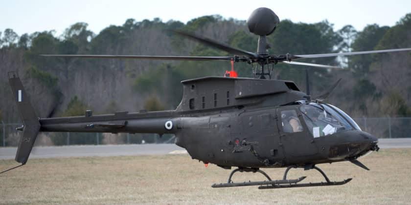 ελικόπτερα του Στρατού Ξηράς Ελικόπτερα KIOWA με ελληνικό εθνόσημο!