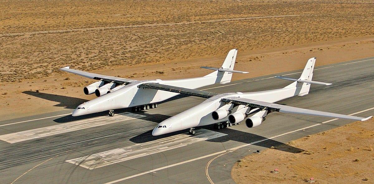Stratolaunch το μεγαλύτερο αεροπλάνο στον κόσμο