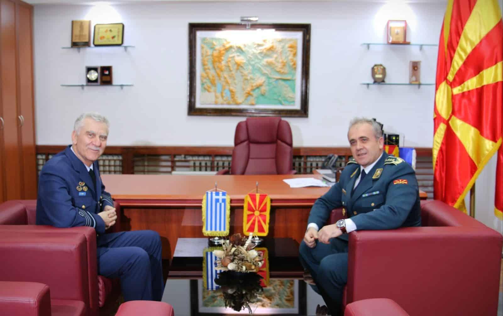 Αρχηγός ΓΕΕΘΑ: Τι έκανε στη Βόρεια Μακεδονία - Ανακοίνωση